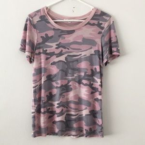 Urban Outfitters Tee Camo